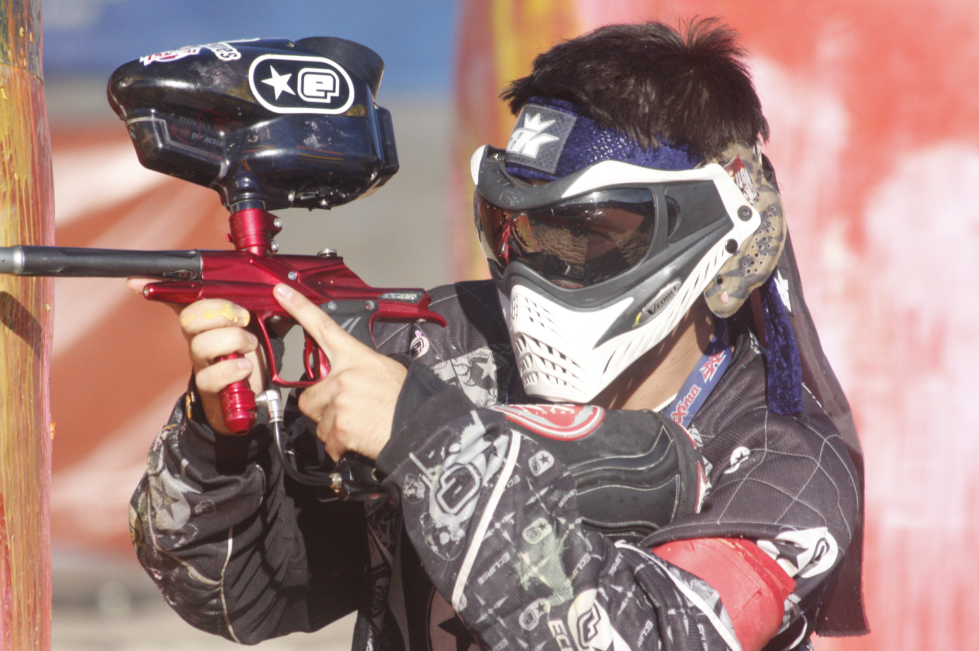 Arena 3x3 paintball